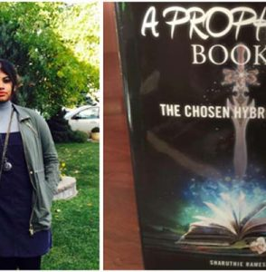 "16 year old Young Author Sharuthie Ramesh releases her another Book ""A Prophecy: Book 2"""