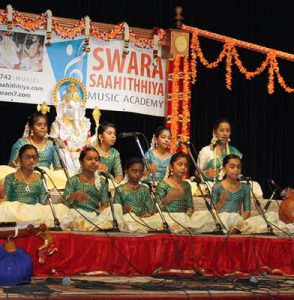 2017 ANNUAL SHOW OF  SWARA SAAHITHHIYA MUSIC ACADEMY, IN SCARBOROUGH, CANADA………