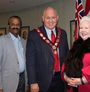 Today, Feb 9th, Ontario's Lieutenant Governor Elizabeth Dowdeswell made her First Official Visit to City of Markham.