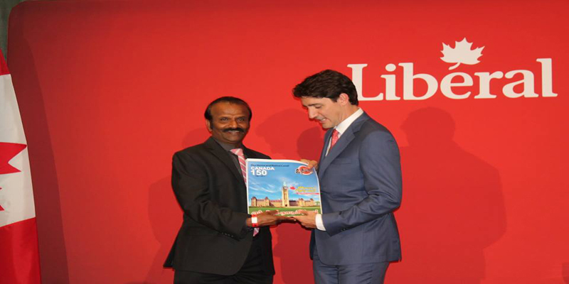 Canada Uthayan's Special Edition to mark Canada's 150th Birthday