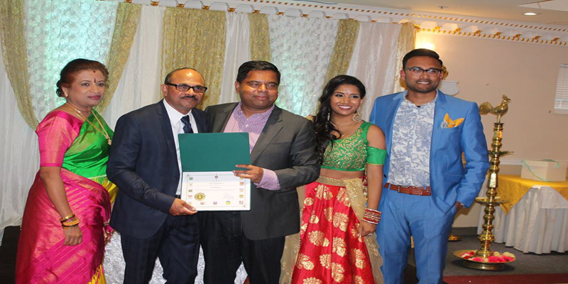 ATN Nehru, celebrated his 60th Birthday at East Town Banquet Hall in Scarborough