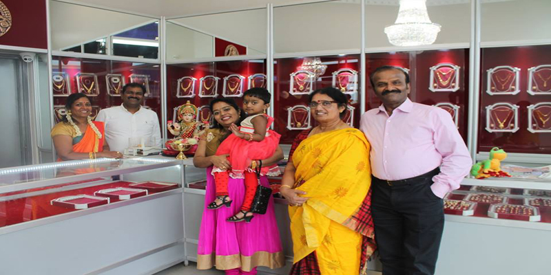 New Jewellry was opened at Markham & Steels intersection at the Red Building- Mahaluxmi Gold House