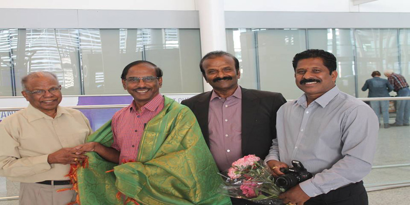 "Well known Speaker, by the name of ""Pattimandran Raja"" arrived at Pearson International Airport"